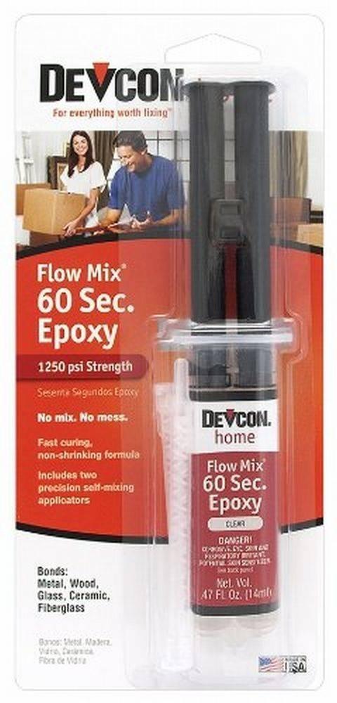 Flowmix 60 Second Epoxy Syringe