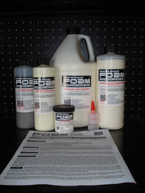 Monster Makers Foam Latex Gallon Kit