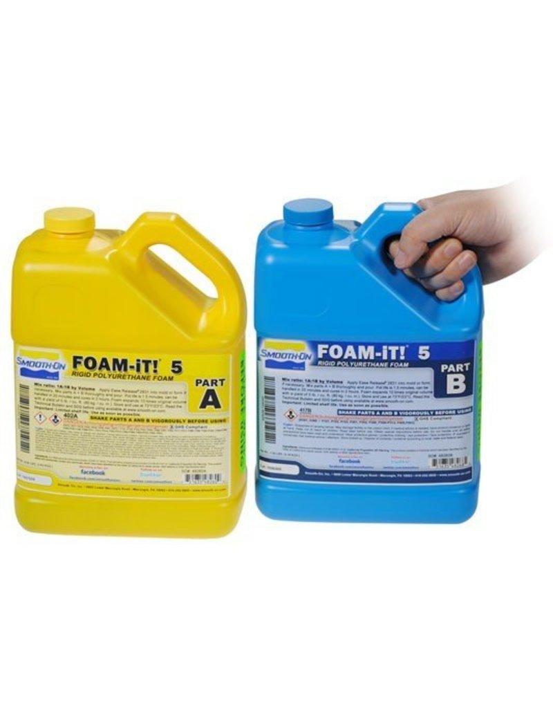 Smooth-On Foam-iT 5 (2 Gallon Kit 15lbs)