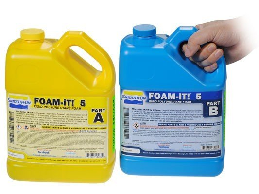 Smooth-On Foam-iT 5 (2 Gallon Kit 15lbs)