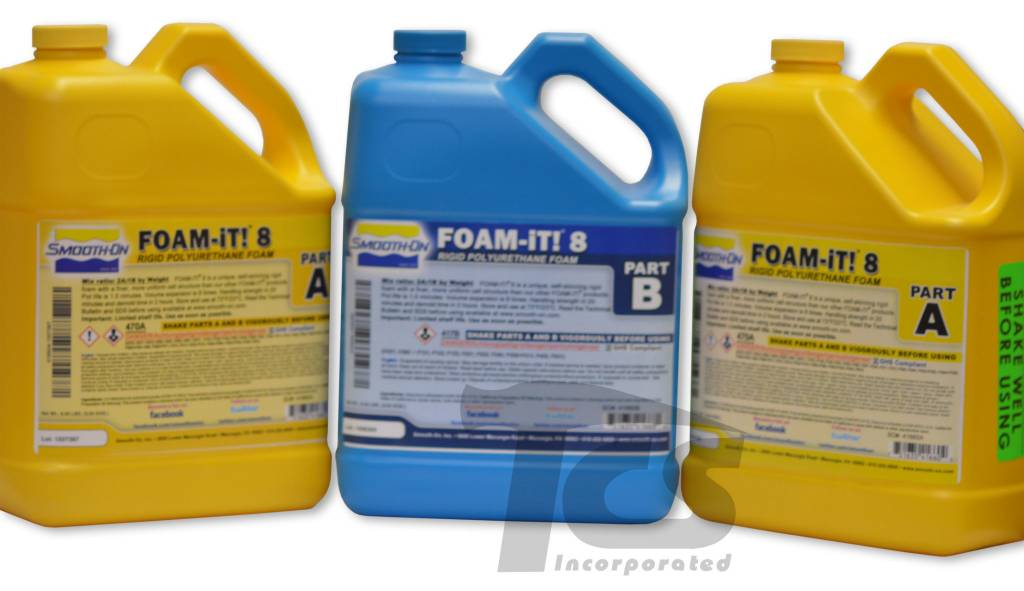Smooth-On Foam-iT 8 3 Gallon Kit (24lbs)