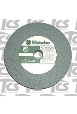 "Metabo Green Wheel 6""x3/4"" 60 Grit Metabo Silicone Carbide"