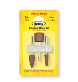 Dedeco International Grinding Stone Set 3pc