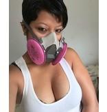 3M Half Mask Respirator Medium 6000 (No Cartridge)