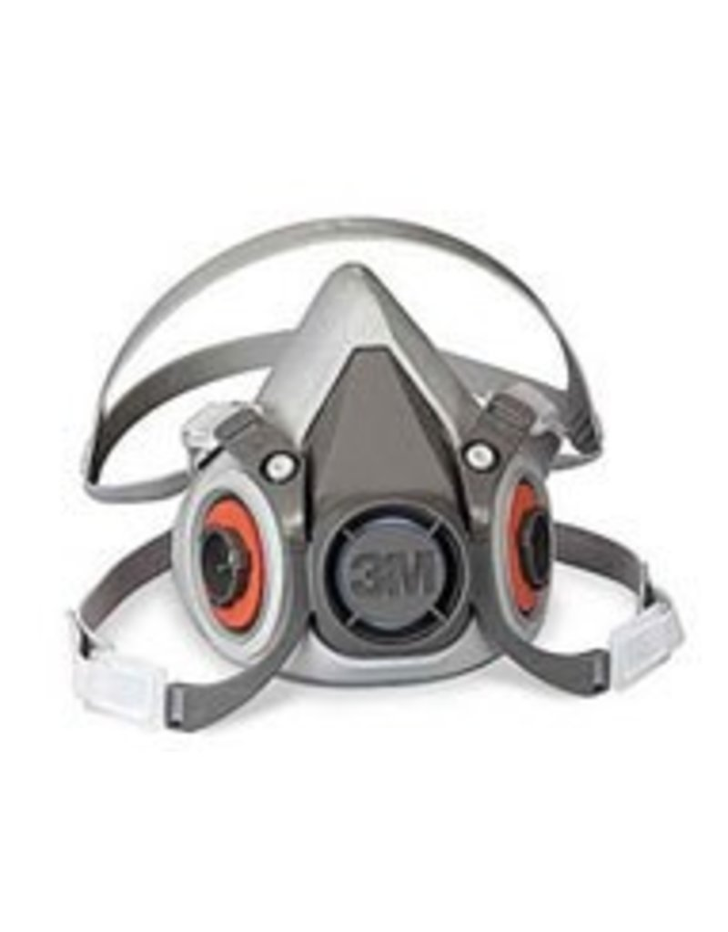 3M Half Mask Respirator Medium 6000 (No Cartridge)