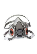 3M Half Mask Respirator Small 6000 (No Cartridge)