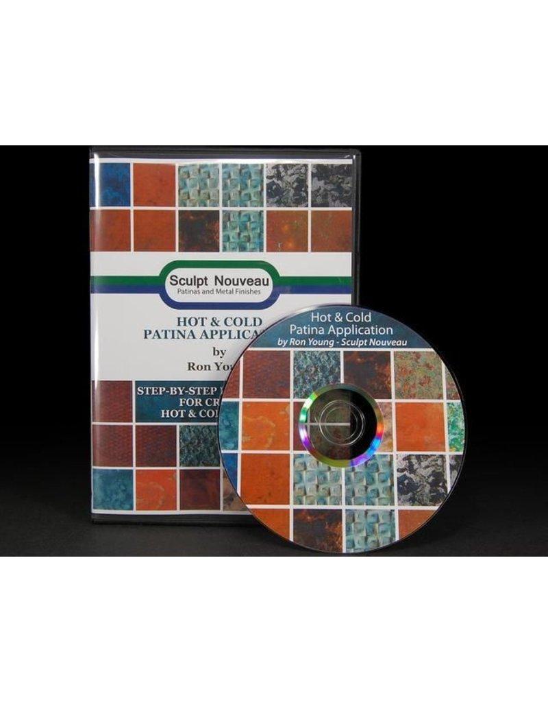 Sculpt Nouveau Hot And Cold Patina Application DVD