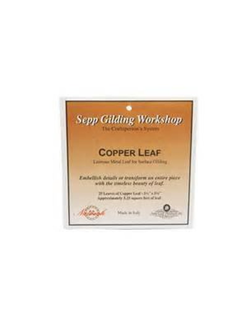 Sepp Leaf Copper Leaf Book 25 Sheets