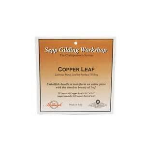 Sepp Leaf Copper Leaf Book 25 Sheets