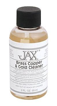 Jax Chemical Company Jax Brass, Copper & Gold Cleaner 2oz