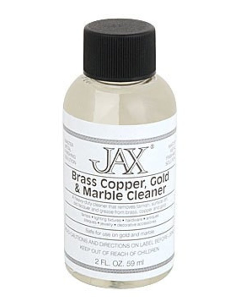 Jax Chemical Company Jax Brass, Copper, Gold, Marble Cleaner 2oz