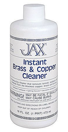 Jax Chemical Company Jax Instant Brass, Copper Cleaner Pint
