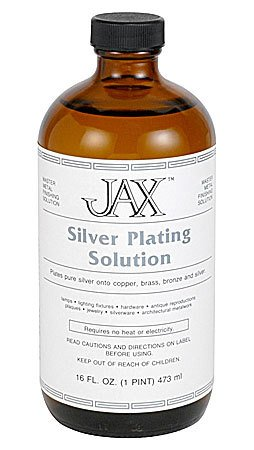 Jax Chemical Company Jax Silver Plating Solution Pint