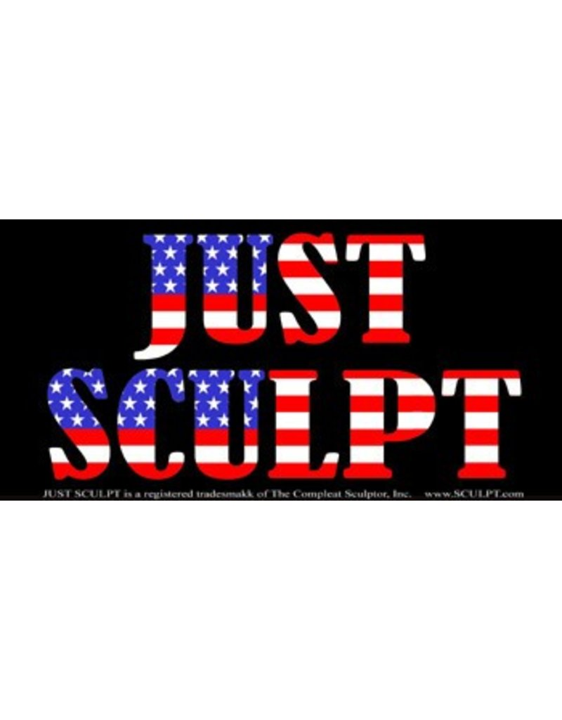 Just Sculpt Just Sculpt Bumper Sticker