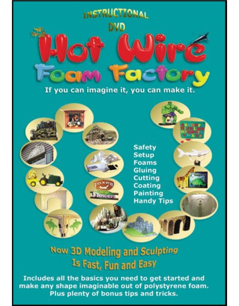 """Hot Wire Foam Factory K45 Pro 3-in-1 Kit (Sculpting Tool, Freehand Router & 4"""" Hotknife)"""