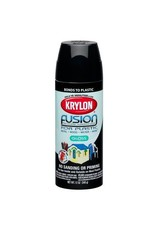 Krylon Krylon Fusion Gloss Black 12oz Spray Can 2321