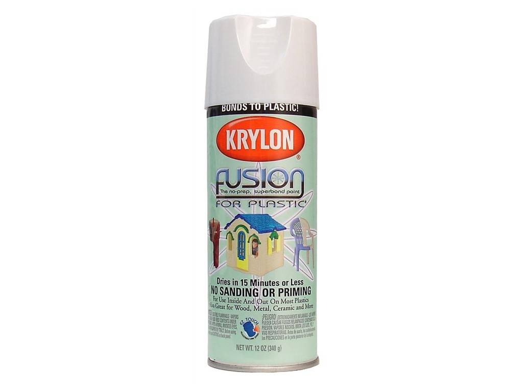 Krylon Krylon Fusion Gloss White 12oz Spray Can 2320