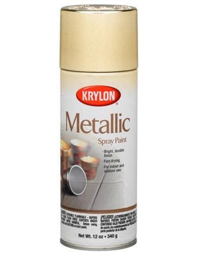 Krylon Krylon Metallic Gold 12oz Spray Can 1706