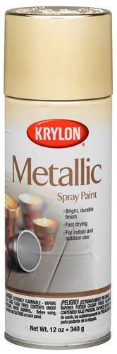 Krylon Krylon Metallic Gold 12oz Spray Can 1706