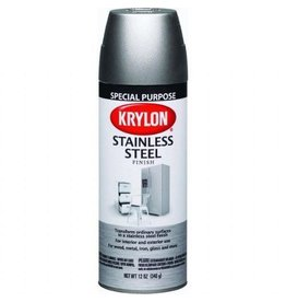 Krylon Krylon Stainless Steel 12oz Spray Can 2400
