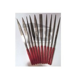 Large Diamond Needle File Set Fine 10pc