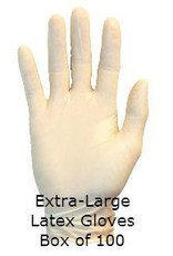 Latex Gloves Extra Large Box