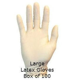 Latex Gloves Large Box