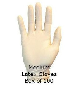 Latex Gloves Medium Box
