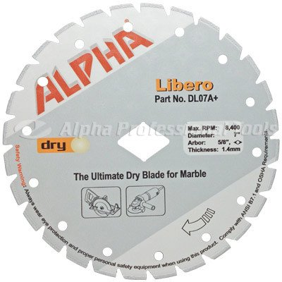 Alpha Libero Diamond Blade  7
