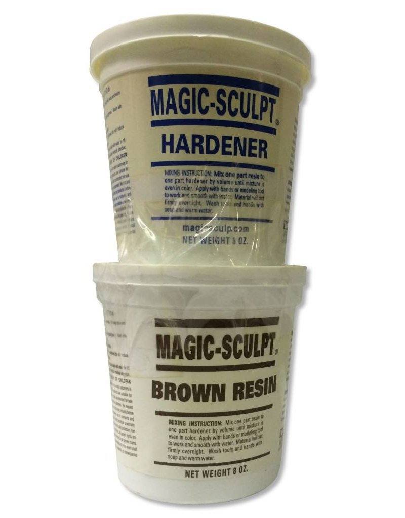 Magic-Sculpt Magic-Sculpt Brown 1lb Kit