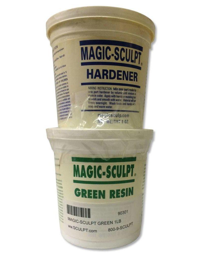Magic-Sculpt Magic-Sculpt Green 1lb Kit