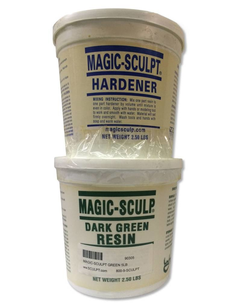 Magic-Sculpt Magic-Sculpt Green 5lb Kit