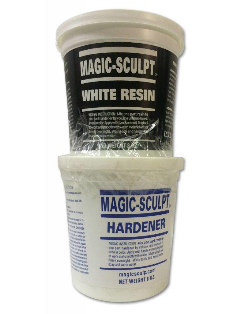 Magic-Sculpt Magic-Sculpt White 1lb Kit