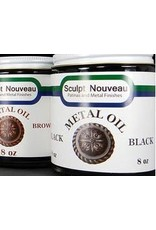 Sculpt Nouveau Metal Oil Black 8oz