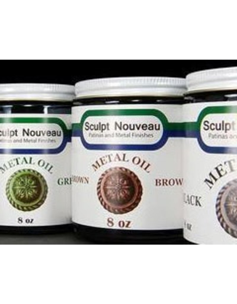 Sculpt Nouveau Metal Oil Brown 16oz