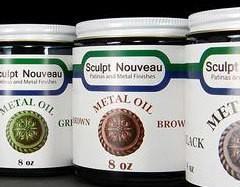 Sculpt Nouveau Metal Oil Brown 16oz