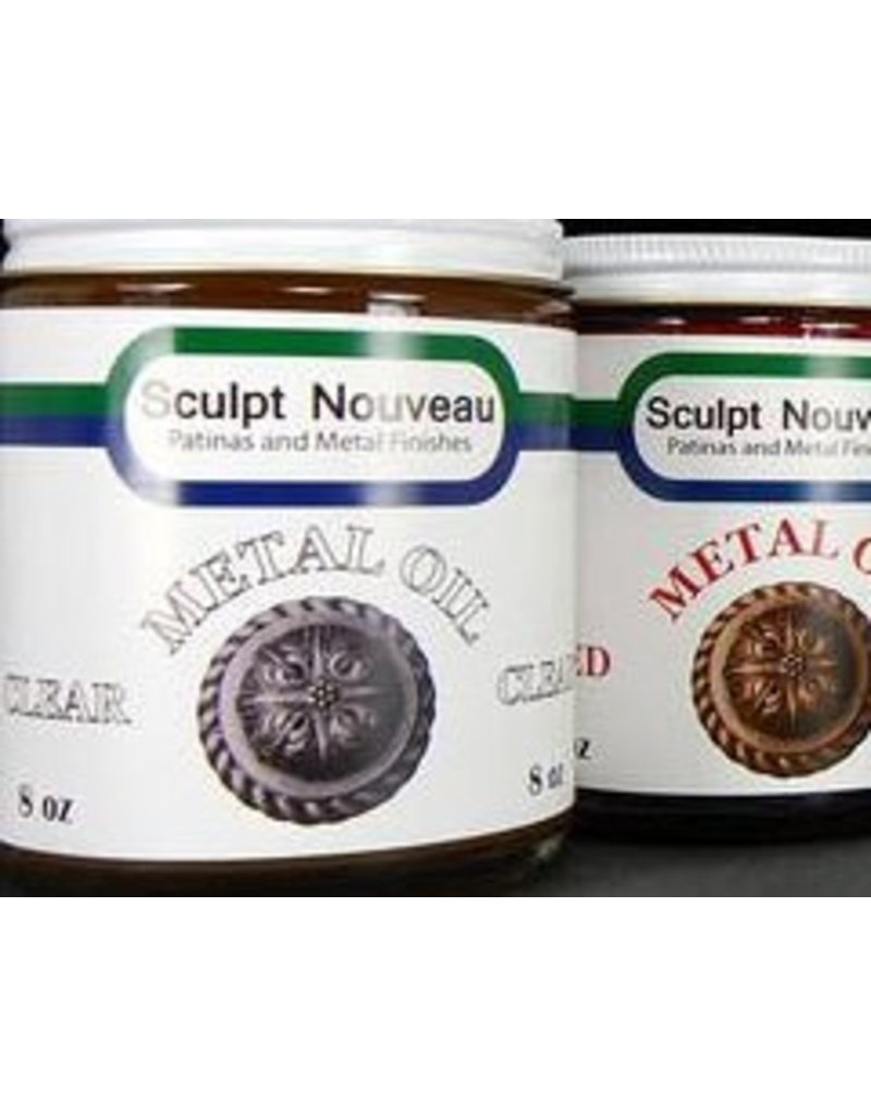 Sculpt Nouveau Metal Oil Clear 8oz