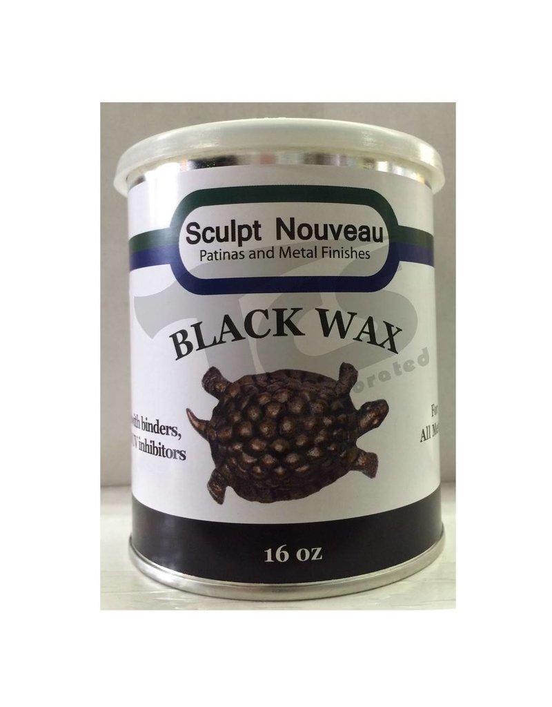 Sculpt Nouveau Metal Wax Black 16oz