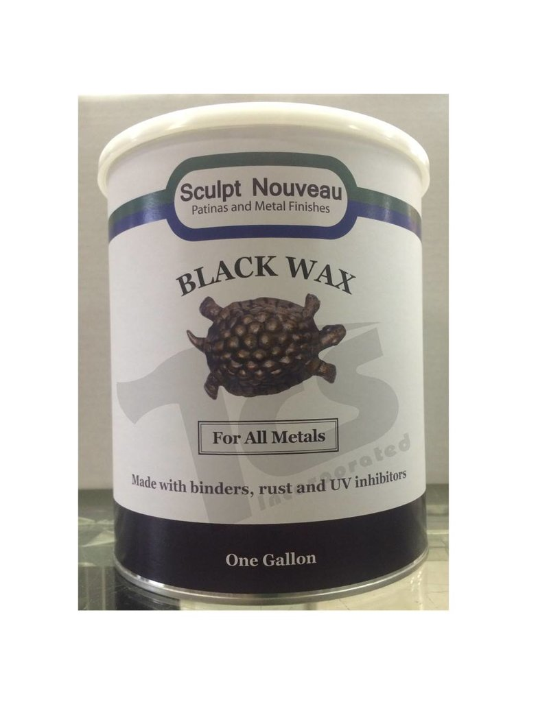 Sculpt Nouveau Metal Wax Black Gallon