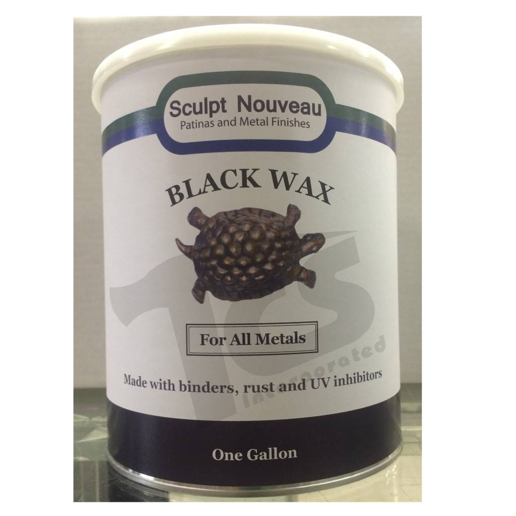Sculpt Nouveau Metal Wax Black Gallon
