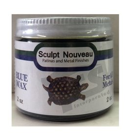 Sculpt Nouveau Metal Wax Blue 2oz
