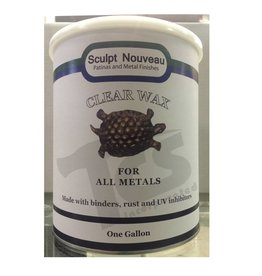 Sculpt Nouveau Metal Wax Clear Gallon