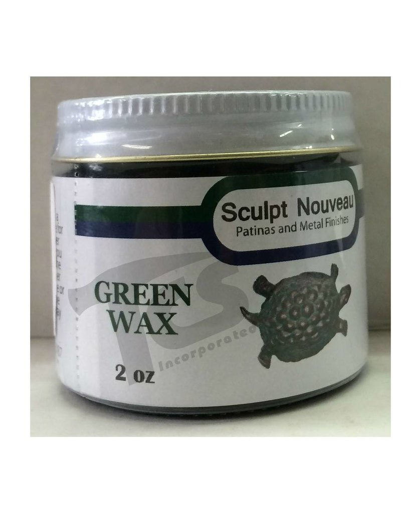 Sculpt Nouveau Metal Wax Green 2oz