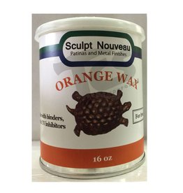 Sculpt Nouveau Metal Wax Orange 16oz