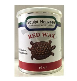 Sculpt Nouveau Metal Wax Red 16oz