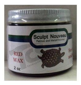 Sculpt Nouveau Metal Wax Red 2oz