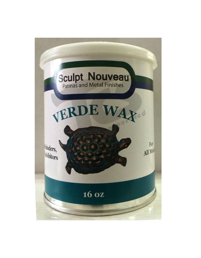 Sculpt Nouveau Metal Wax Verde 16oz