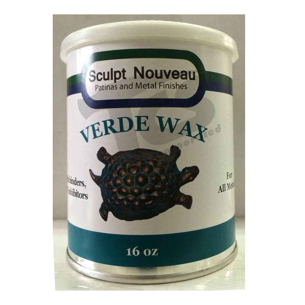 Sculpt Nouveau Metal Wax Verde 16oz