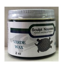 Sculpt Nouveau Metal Wax Verde 2oz