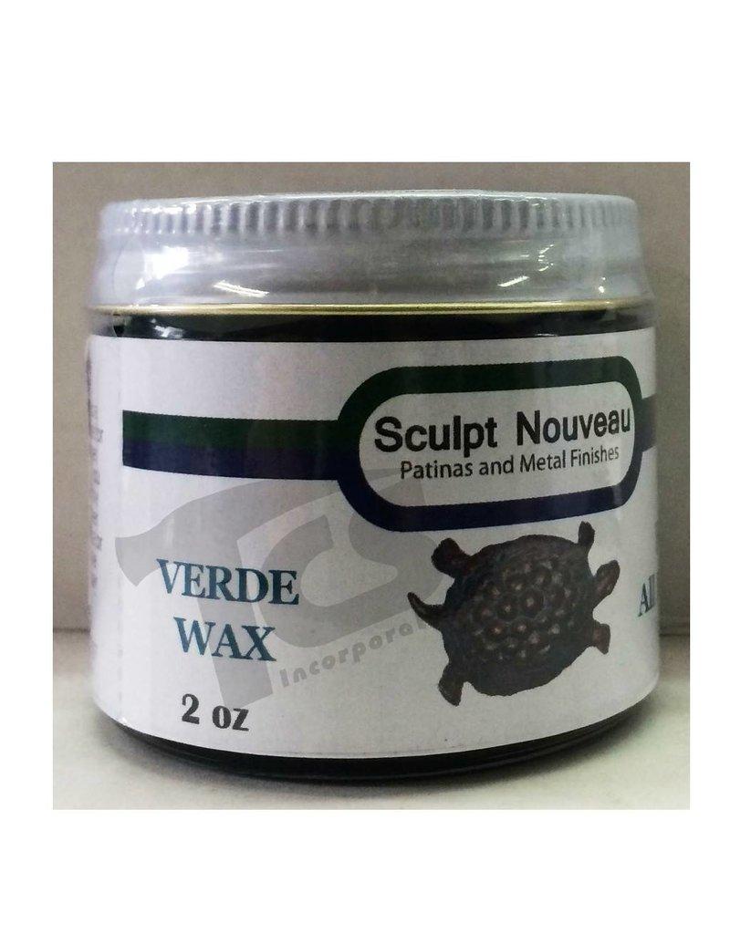 Sculpt Nouveau Metal Wax Verde 2oz